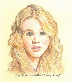 Joss Stone - Pre-sightloss artwork by Arthur Ellis