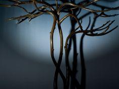 Meta. Function vs Poetry, the bronze tree inside Fig Leaf