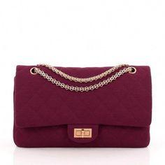 e551fa847e6c Chanel Reissue 2.55 Handbag Quilted Jersey 227  Chanelhandbags