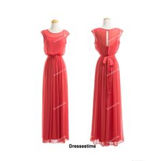 Long bridesmaid dress long evening dress red by dressestime, $99.99 This could be a nice fit all...but the link is dead :(