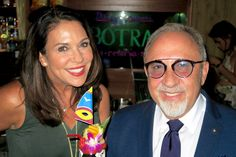 Fun to be with the face of Botran Rum, Grammy award-winning producer Emilio Estefan! My very colorful drink - Jungle Rum-  at Lost Lake bar, was delicious!
