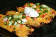 Recipe of the Day: Loaded Potato Skins