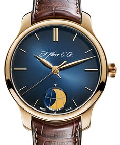 H.Moser&Cie - ENDEAVOUR MOON,Rose Gold