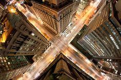 Photography idea: abstract pattern in the city NY City