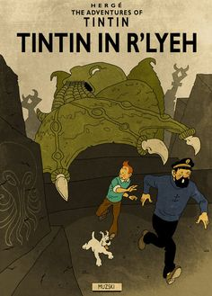 Tintin in R'lyeh