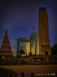 Obelisco Ciudad de Guatemala.