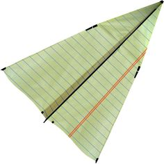 New Tech Kites Paper Airplane Kite ($44) ❤ liked on Polyvore featuring fillers, fillers - green, objects, art, decor, beige, detail and embellishment