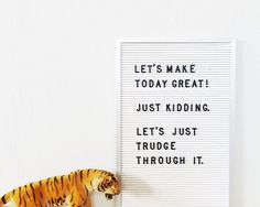 Miss Moss · Letterclub Wall Quotes, Motivational Quotes, Inspirational Quotes, Quotable Quotes, Very Best Quotes, Make Today Great, Funny Letters, Miss Moss, Vintage Lettering