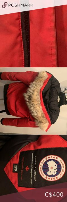 Canada Goose Canada Goose Chilliwack Bomber XS. Canada Goose Other Canada Goose Red, Canada Goose Women, Canada Goose Jackets, Plaid Flannel, Flannel Shirt, Canada Goose Chilliwack, Kensington Parka, Vest For Sale, Off White Jacket