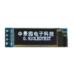 """0.91 cal 128x32 I2C IIC Seryjny Niebieski OLED Moduł Wyświetlacza LCD 0.91 """"12832 SSD1306 Ekran LCD"""