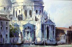 """Trevor Waugh,     """"Santa Maria Della Salute, Venice"""""""