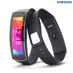 Samsung Gear Fit Smart Watch and Fitness Tracker for Samsung Devices