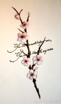 wedding ideas for spring cherry blossoms on cherry blossom branches 27725