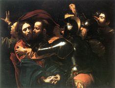 Caravaggio, The Taking of Christ, c. 1602