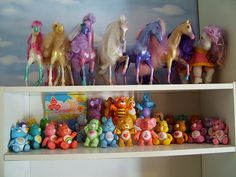Fashion Star Fillies, Care Bares, and WUZZLES!!  OMG - I want them all again!