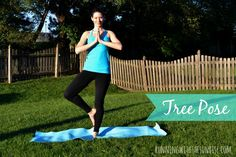 # 5 Tree Pose (Vrksasana)  Morning poses for beginners