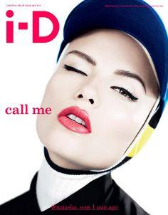 Natasha Poly Cover i-D Magazine