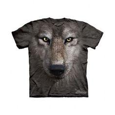 Kids Wolf Face T-Shirt