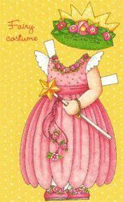 "Fairy Costume  10"" Ann Estelle 1997 Tonner Mary Engelbreit Comparison Guide"