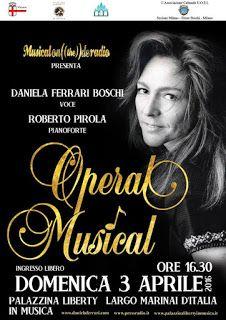 Claudia Grohovaz: OPERAL MUSICAL con Daniela Ferrari Boschi alla Pal...