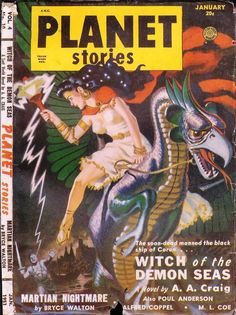 Comic Book Cover For Planet Stories v04 10