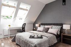 Zielona Klecina - Sypialnia, styl nowoczesny - zdjęcie od PRACOWNIE WNĘTRZ KODO