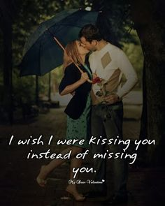 I wish I were kissing you instead of missing you. But, I won't tell you because I'm scared that you'll hurt me again. #emotera #haha