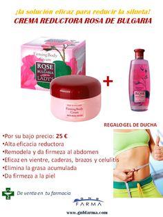 """Crema reductora """"Rosa de Bulgaria""""  ¡La  solución más eficaz para reducir la silueta! 25 €"""