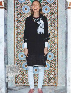 """""""Luxury"""" Ania Kisiel for Gioia! Magazine April 2015"""