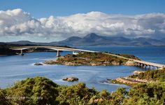 Isle of Skye Bridge , Scotland
