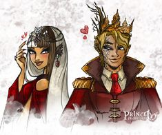 Queen Cerise Wolf and King Daring Beast by PrinceIvy-FreshP.deviantart.com on @DeviantArt