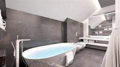 Projekt domu D102C 126,45 m2 - koszt budowy - EXTRADOM Bathroom, Washroom, Full Bath, Bath, Bathrooms
