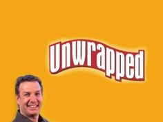 Candy, sweets, junk and comfort food. That's why I watched this show. :) Re-pin: Unwrapped, I seriously love this show!