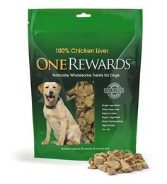 One Rewards Chicken Liver Freeze Dried Dog Treats, 20-Ounce ** Awesome dog product. Click the image : Dog treats