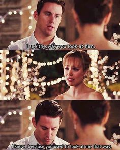 I cried during this part. Imagine the person you love, not remember anything…