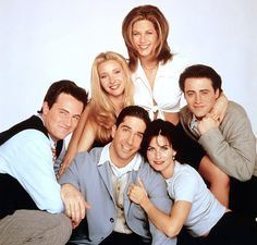 Friends: ontem e hoje | Friends, yesterday and today.