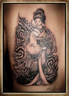 Pin  Geisha Tattoo Designs With Image Male Back Piece Japanese picture to pinterest. Description from tattoopins.com. I searched for this on bing.com/images