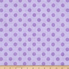 Riley Blake Small Dots Tone on Tone Lavender from @fabricdotcom  Designed for Riley Blake, this tonal cotton print fabric is perfect for quilting, crafts, apparel and home décor accents.