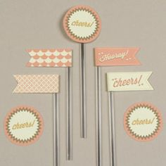 tons of free printables from graphic designers- birthday, baby, wedding, party, recipe cards, etc.