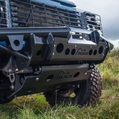 Masai Tubular Winch Bumper for Land Rover Defender