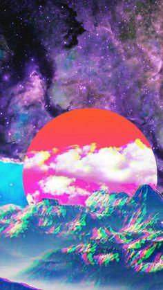 vaporwave fondos Sky, Purple, Space, Co - vaporwave Glitch Wallpaper, Iphone Wallpaper Sky, Wallpaper Animes, Aesthetic Iphone Wallpaper, Aesthetic Wallpapers, Wallpaper Backgrounds, Anime Computer Wallpaper, Laptop Backgrounds, Backgrounds Free
