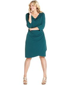 bf1fff2968c9c Charter Club Plus Size Dress