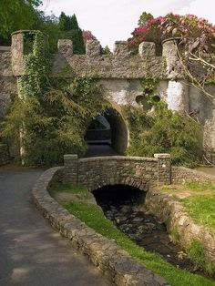 Castle Gate, Tollymore Forest, Bryansford, Northern Ireland: