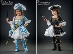 Girl carnival costume Pirate girl dress pirate by ArtColombina
