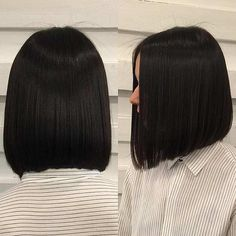 23 Best Bob and Lob Haircuts for Summer: #7. STRAIGHT, LOB HAIRCUT; #lob; #hairstyle