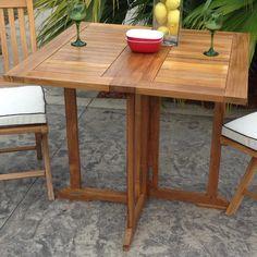 Incroyable ChicTeak Hatteras Teak Dining Table