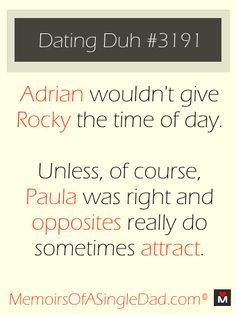 Dating Duh #3191 - Eye of the Tiger. Like or re-pin if you agree.
