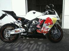 KTM RC8 Red Bull Edition