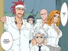 Bleach ~~ School was never the same thereafter :: Renji, Yumichika, Ikkaku, Rangiku, Toushiro