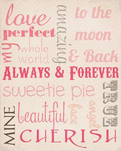 Sweetly Scrapped: {free} Love Subway Art Printable & Journal Cards